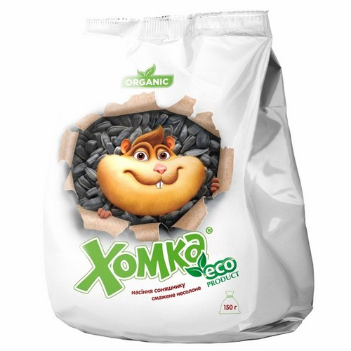 Roasted unsalted sunflower seeds Homka Eco